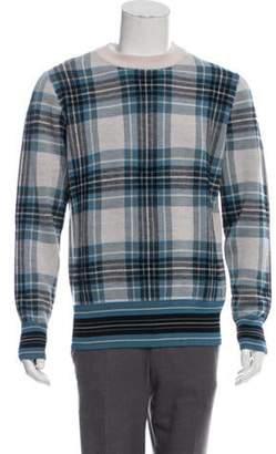 Dries Van Noten Maddox Wool-Blend Sweater w/ Tags grey Maddox Wool-Blend Sweater w/ Tags