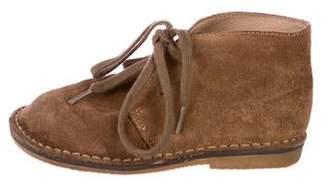 Ralph Lauren Boys' Suede Ankle Boots