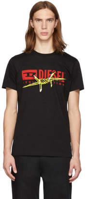 Diesel Black T-Diego-BX2 T-Shirt