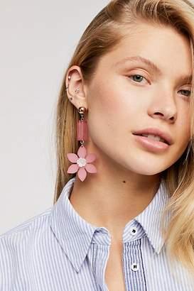 Zhuu Floral Resin Single Earring