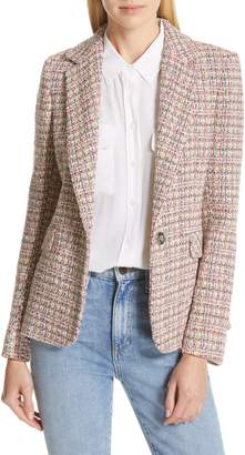 Helene Berman Colorful Tweed Blazer
