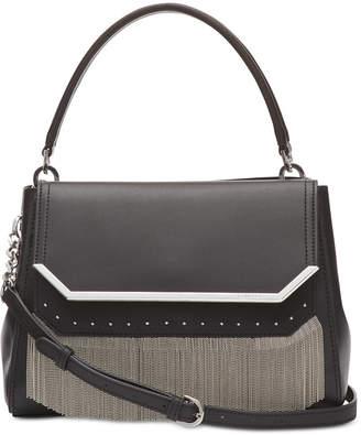 Calvin Klein Leather Tessie Satchel