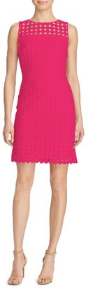 Women's Lauren Ralph Lauren Lace Sheath Dress $170 thestylecure.com