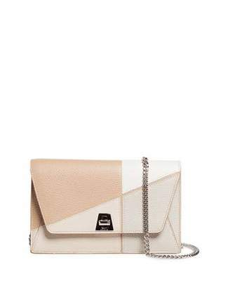 Akris Anouk Sunrise Calf Leather Envelope Crossbody Bag