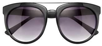 Vince Camuto Oversize Brow Bar Sunglasses