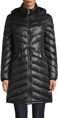 Calvin Klein Quilted Down Packable Puffer Jacket