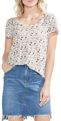 Vince Camuto Whimsical Ditzy Top