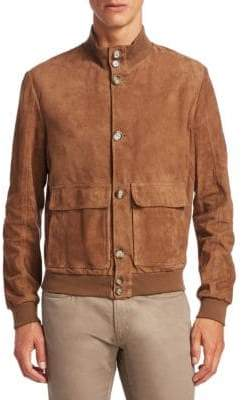 Saks Fifth Avenue COLLECTION Suede Jacket
