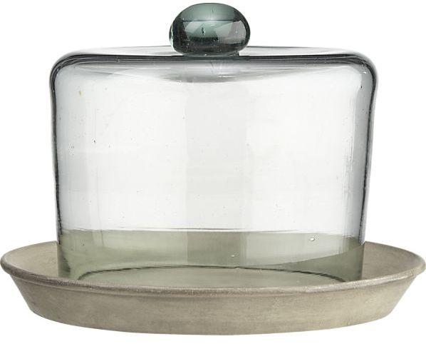 Crate & Barrel Large Bell Jar