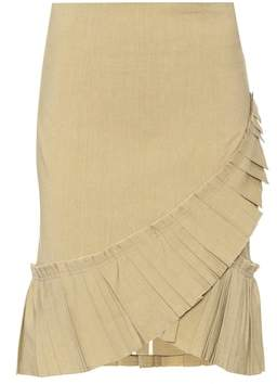 Isabel Marant Rebel linen-blend skirt