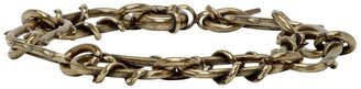 DSQUARED2 Brass Roses Chain Bracelet