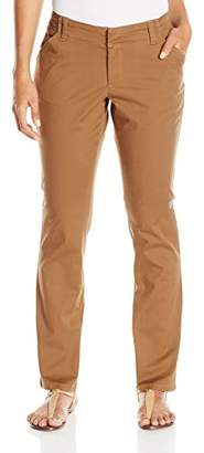 Lee Women's Petite Midrise-Fit Essential Chino Pant