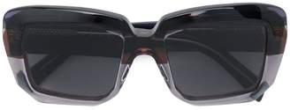 Marni Eyewear oversized square sunglasses