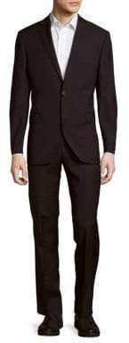 Saks Fifth Avenue Woolen Striped Suit
