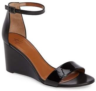 Aquatalia Nina Ankle Strap Wedge Sandal (Women)