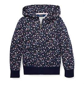 Polo Ralph Lauren Floral French Terry Hoodie (4-7 Years)