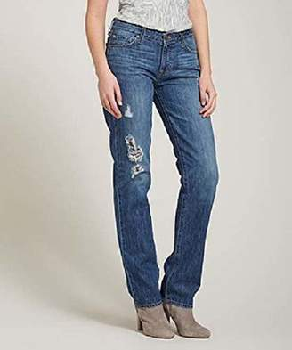 Big Star Women's Kate Straight Leg Jean Destructed