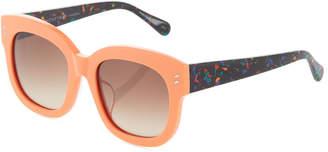 Stella McCartney Square Acetate Retro Sunglasses
