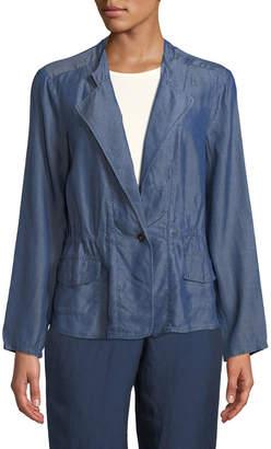 Nic+Zoe Femme Chambray Jacket