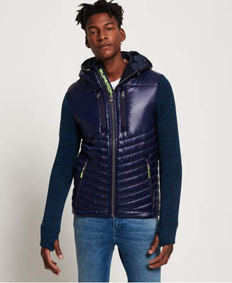 c71334777950 Navy Zip Hoodie Men Superdry - ShopStyle UK