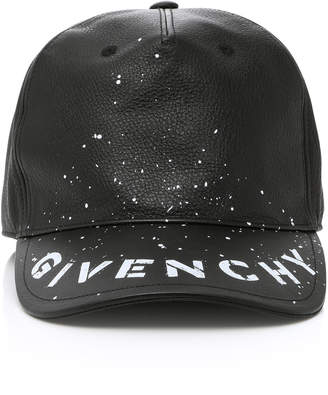 Givenchy Graffiti Logo Hat