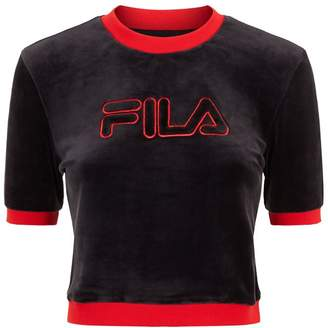 Fila Emiliana Velour T-Shirt