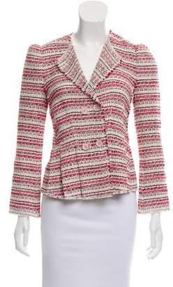 Rebecca Taylor Pleated Tweed Jacket w/ Tags