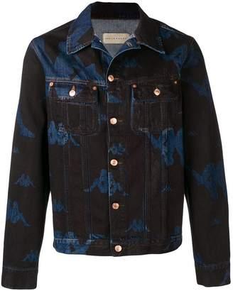 Kappa logo print denim jacket