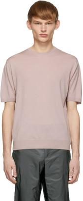 Prada Pink Lata Pettinata Sweater
