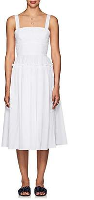 Barneys New York Women's Cotton Poplin Bustier Dress - White