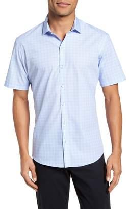 Zachary Prell Cecil Check Print Sport Shirt