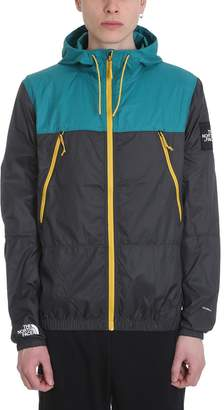 The North Face 1990 Se Mountain Grey And Green Technical Fabric Jacket 6c6a8f139