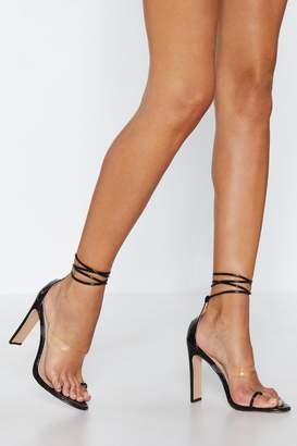 Nasty Gal Oh Toe You Don't Tie Heel