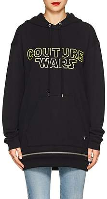 "Moschino Women's ""Couture Wars"" Cotton Hoodie"