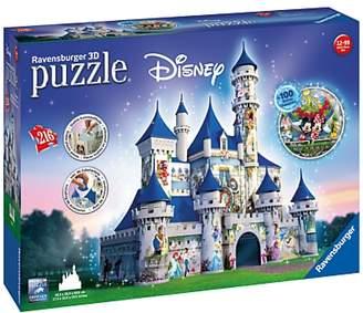 Ravensburger Disney Castle 3D Puzzle, 216 Pieces