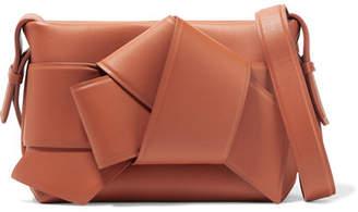 Acne Studios Musubi Knotted Leather Shoulder Bag - Camel