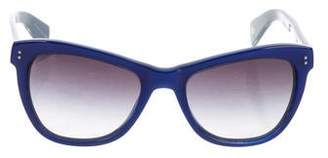 Paul Smith Rhian Gradient Sunglasses