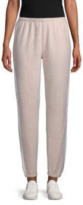 Wildfox Couture Striped-Down Jogger Pants