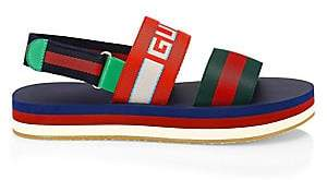Gucci Men's Stripe Strap Sandal