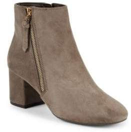 Cole Haan Saylor Suede Ankle Booties