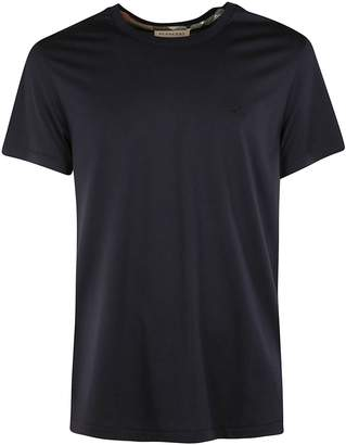 Burberry Logo Embroidered T-shirt
