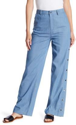 Honeybelle Honey Belle Snap Button High Waist Pants
