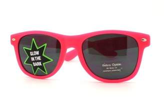 Moda Glow In The Dark Sunglasses Perfect Rave Club Shades