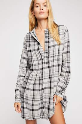 Cp Shades Yoko Plaid Tunic