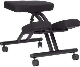 Offex Height Adjustable Kneeling Chair with Dual Wheel