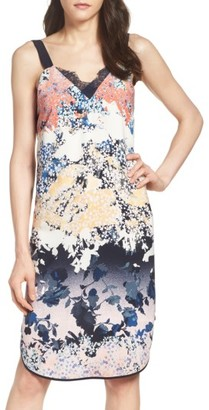 Women's Adelyn Rae Floral Shift Dress $98 thestylecure.com
