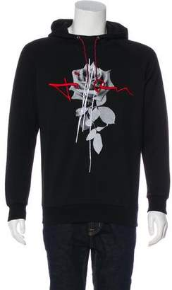 Christian Dior Rose Woven Hoodie