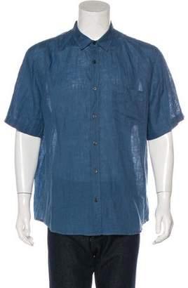 Vince Woven Linen Shirt