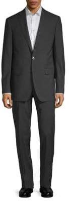 Calvin Klein Extra Slim Fit Mini Grid Wool Suit