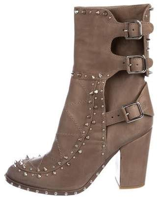 Laurence Dacade Spiked Mid-Calf Boots